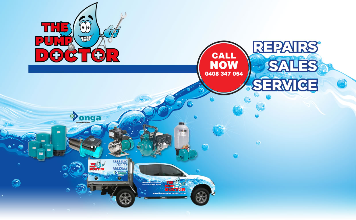 Water Pump Repairs Maintenance New Installations Onga Sunshine Coast